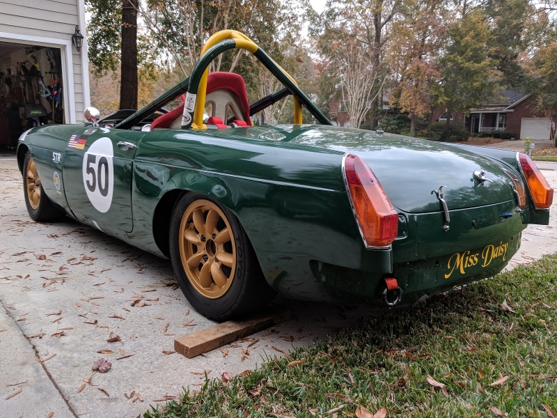 1965 MGB Roadster Vintage Race Car SOLD | VINTAGE RACE CAR SALES