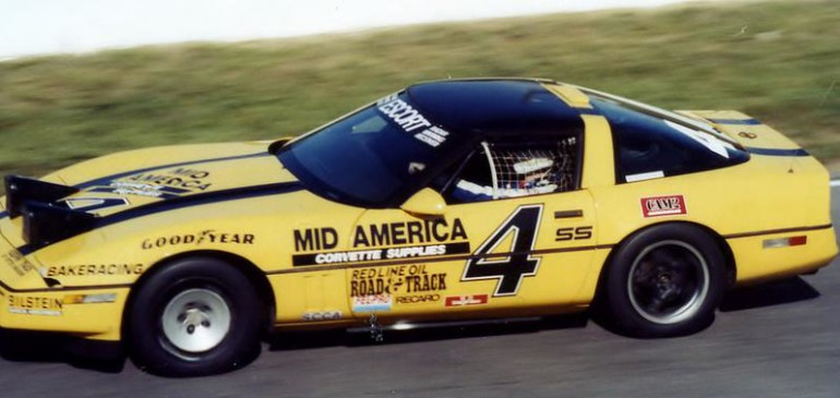 Bakeracing #4 Championship Corvette To Be Inducted at Great Hall