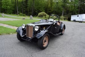 1952 MG TD MK2 Competition
