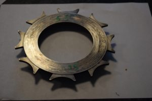 Used Tilton Pressure Plate for 5.5″ Clutch