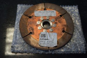 1″ by 23 Tilton Clutch Disc 7.25″ diameter