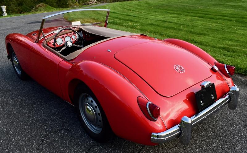 SOLD-1958 MGA Roadster - VINTAGE RACE CAR SALES