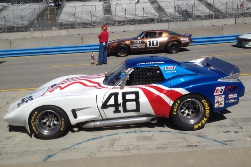 "1974 Greenwood Wide Body Corvette ""Greenwood Batmobile IMSA Corvette"" | VINTAGE RACE CAR SALES"