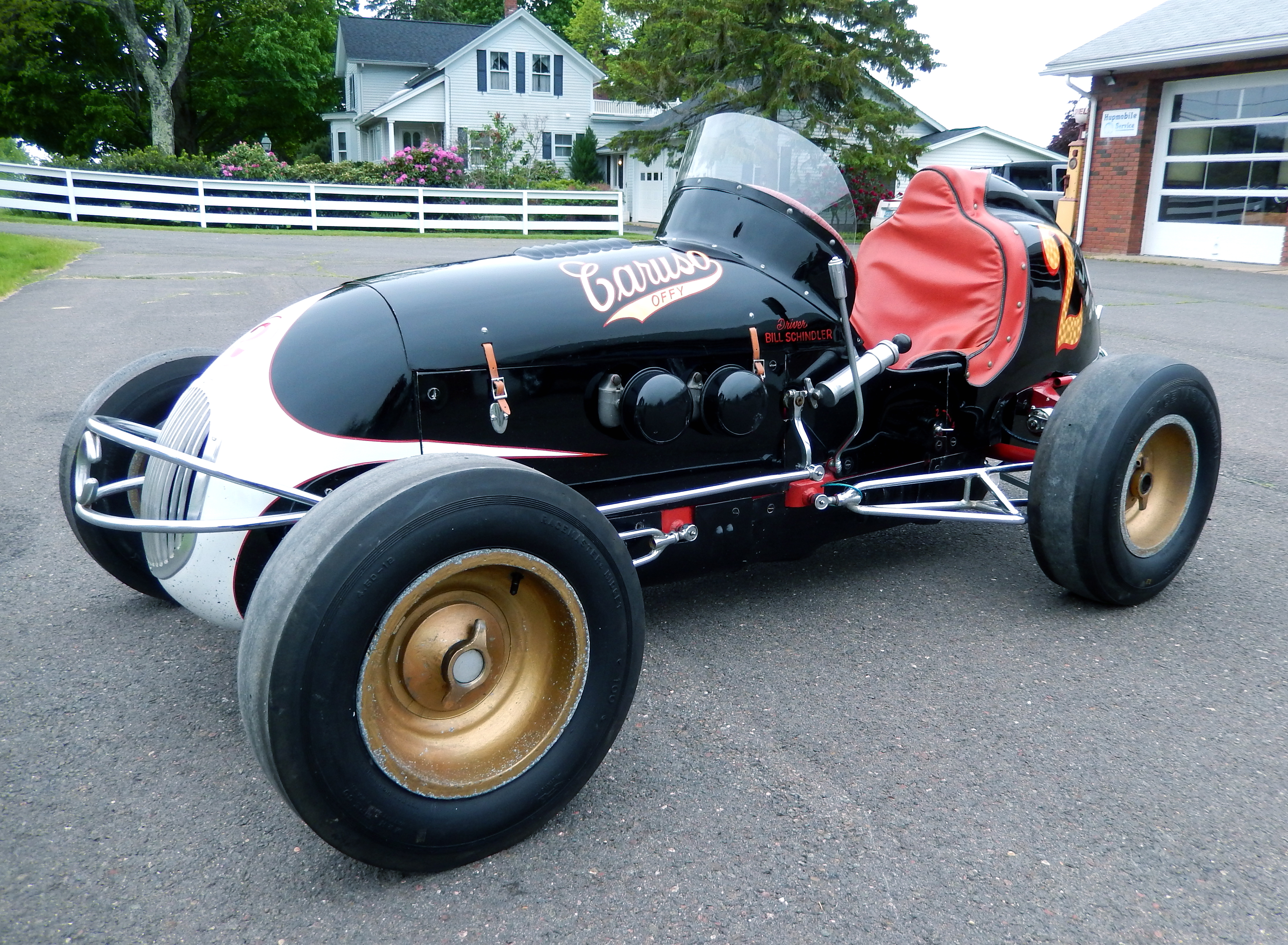 1947 Kurtis Kraft Midget Image. Chassis number 198